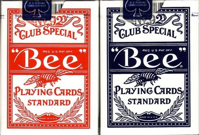 Red Bee Icon Wynn Casino Cards